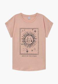 Lindex - TEENS TINDRA - Triko spotiskem - light dusty pink - 0