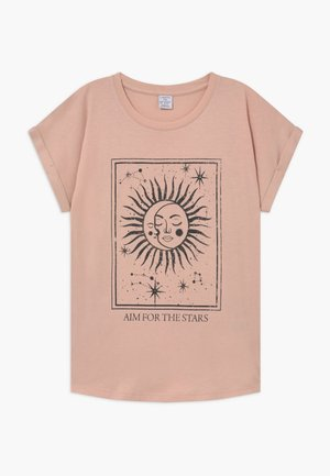 TEENS TINDRA - T-shirt print - light dusty pink