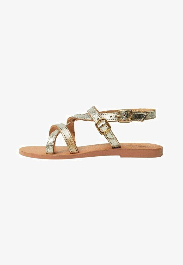 Mango - Sandals - gold