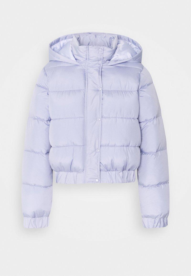 Missguided Petite - HOODED PUFFER - Vinterjakker - lilac