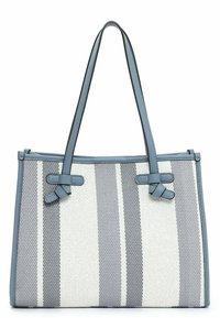 Emily & Noah - Handbag - blue stripes - 2