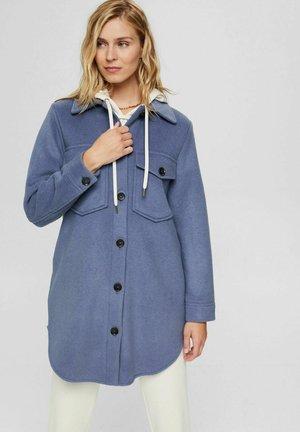 Classic coat - grey blue