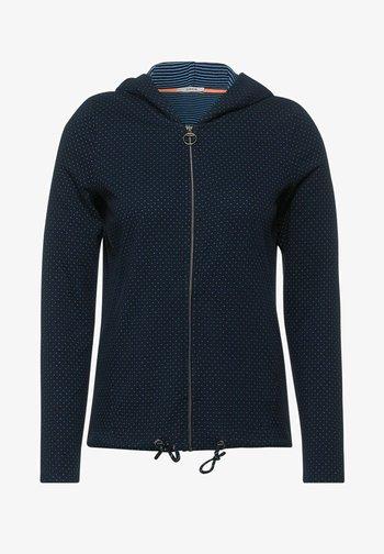 Zip-up sweatshirt - blau