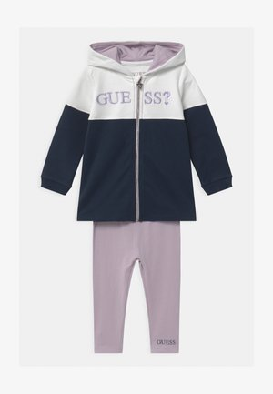 ACTIVE BABY SET - Zip-up hoodie - true white