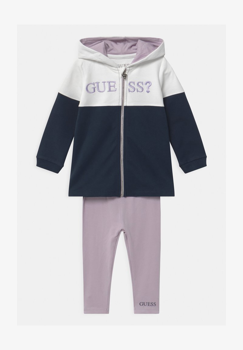 Guess - ACTIVE BABY SET - Zip-up hoodie - true white