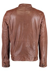 DNR Jackets - Leather jacket - cognac - 1