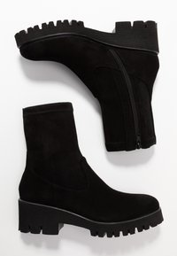 Homers - KELLY - Platform ankle boots - black - 3