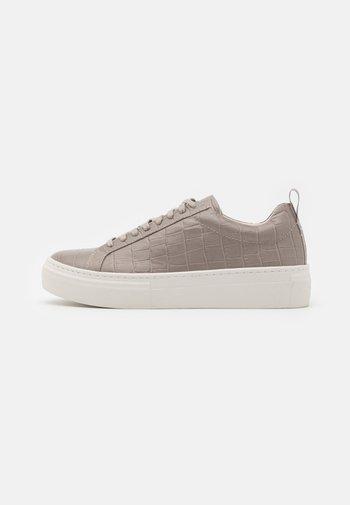 ZOE PLATFORM - Sneakers - grey