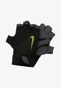 Nike Performance - MEN´S ELEMENTAL FITNESS GLOVE - Gants - black/dark grey/black/volt - 1