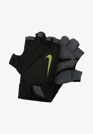 MEN´S ELEMENTAL FITNESS GLOVE - Gloves - black/dark grey/black/volt