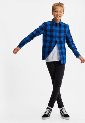 FLANELLEN - Shirt - cobalt blue