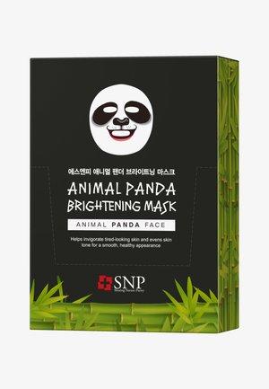 SNP ANIMAL PANDA BRIGHTENING MASK 20 PACK - Face mask - -