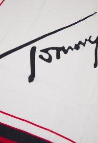 Tommy Hilfiger - SIGNATURE SQUARE - Scarf - beige - 2