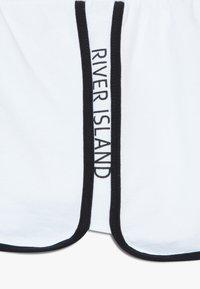 River Island - RUNNER 2 PACK  - Kraťasy - black/white - 5