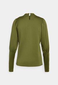 Scotch & Soda - TEE WITH SPECIAL LONG SLEEVES - Top sdlouhým rukávem - military green - 1