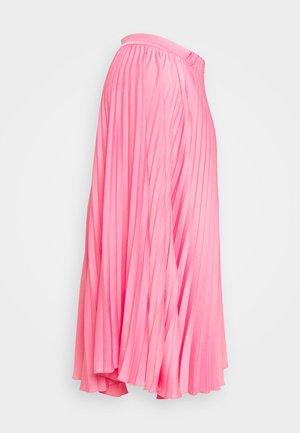 TYE DYE SKIRT - Plisovaná sukně - candy pink