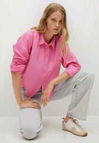 Mango - Button-down blouse - rose - 5