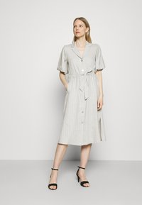 Expresso - DELANY - Shirt dress - steel grey melange - 0