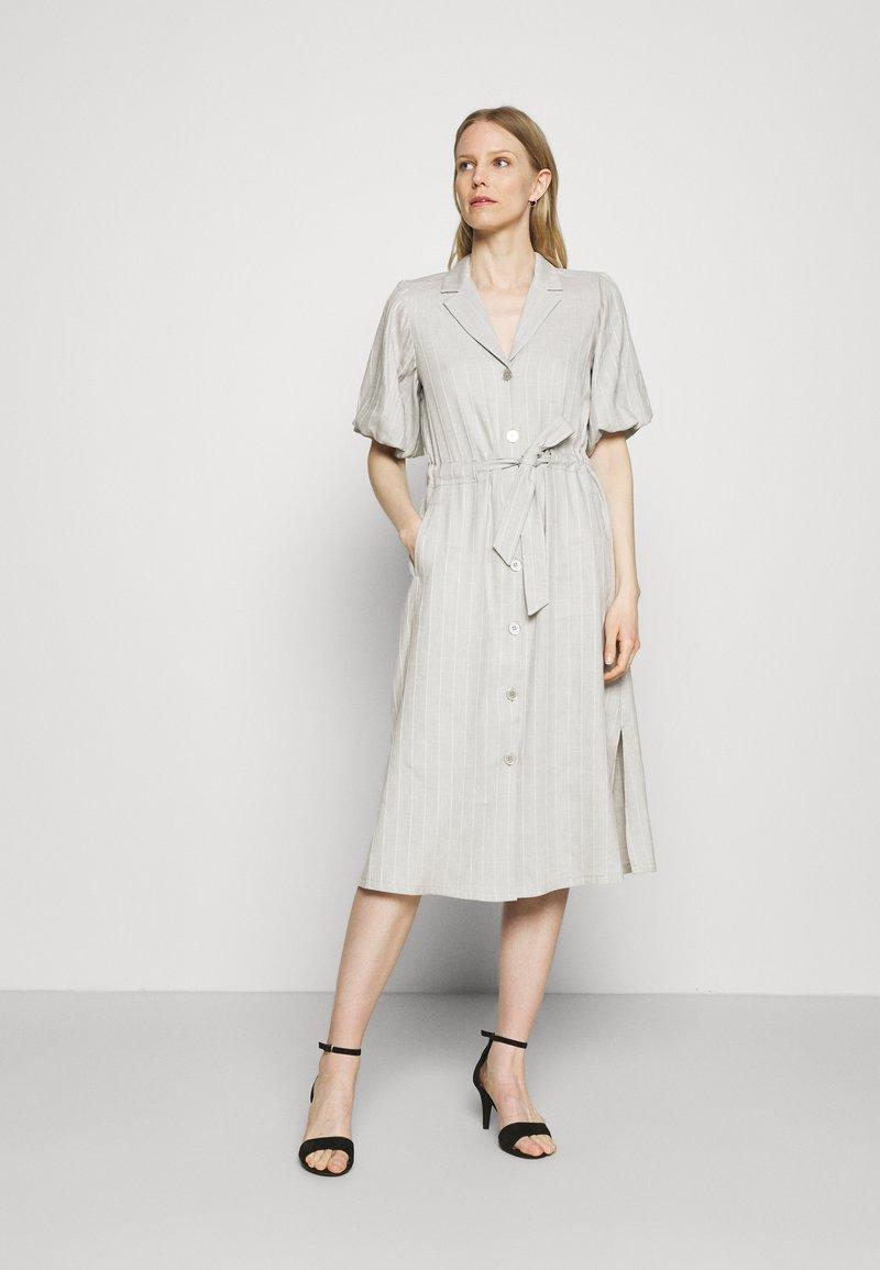 Expresso - DELANY - Shirt dress - steel grey melange