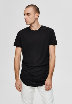 ABGERUNDETES  - T-shirts basic - black