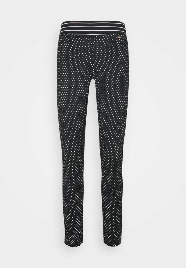 PANTS - Pyjamahousut/-shortsit - black