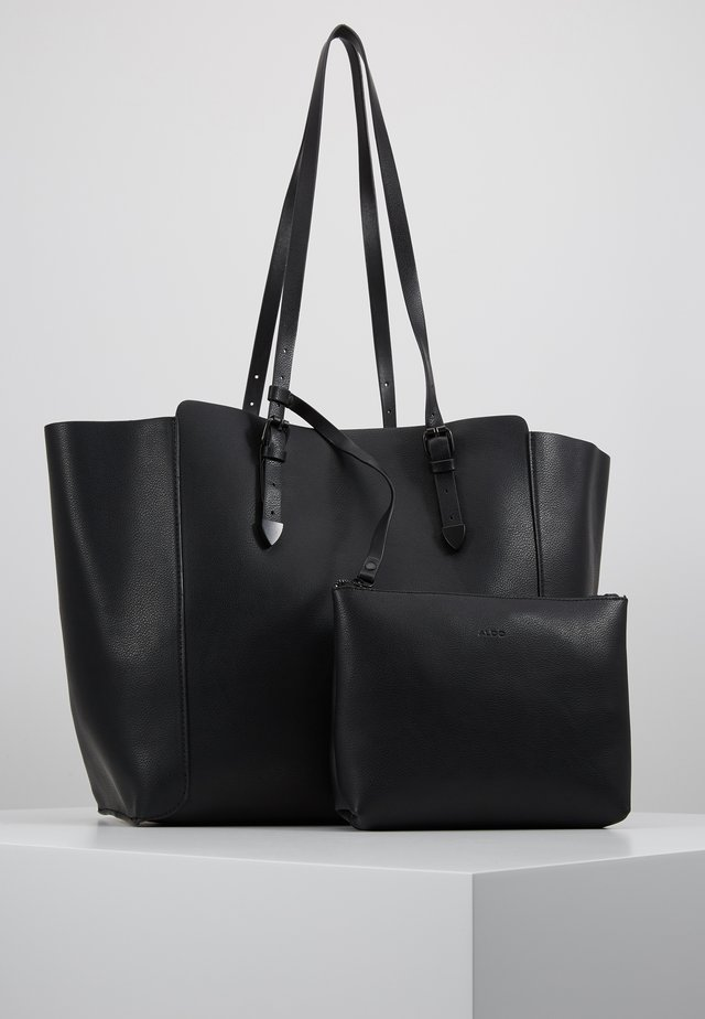 JERURI SET - Shopping bag - black