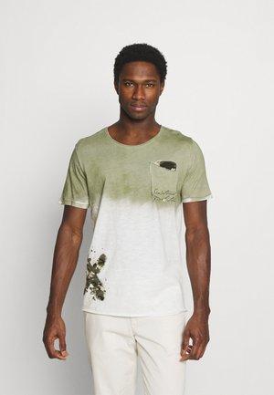 PROJECT ROUND - T-shirt imprimé - khaki