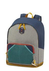 Samsonite - SCHOOL SPIRIT - School bag - american grey denim - 2