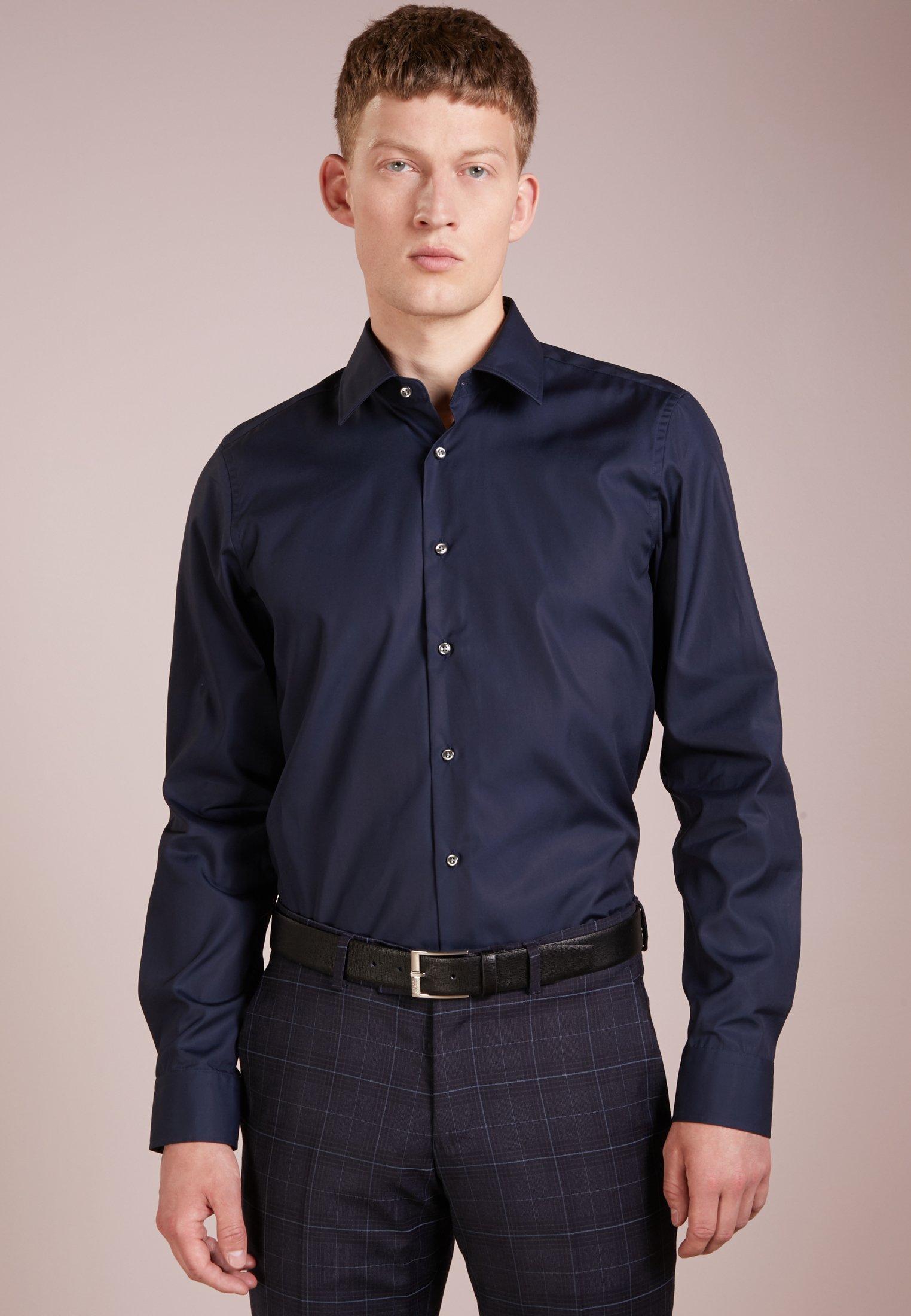 JOOP! PIERCE SLIM FIT - Koszula biznesowa - dark blue - Odzież męska 2020