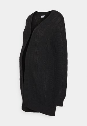 PCMSAYANA LONG - Cardigan - black