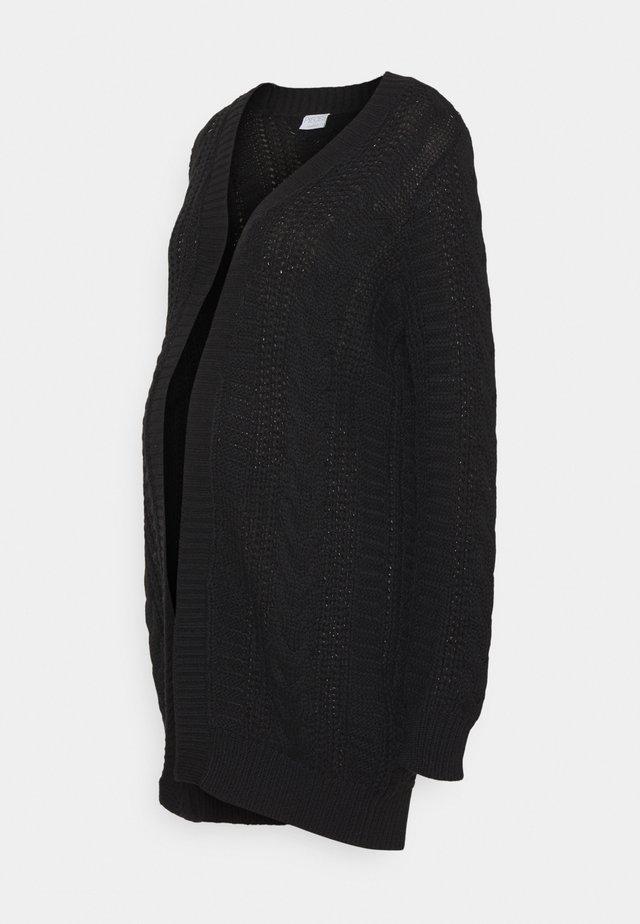 PCMSAYANA LONG - Cardigan - black