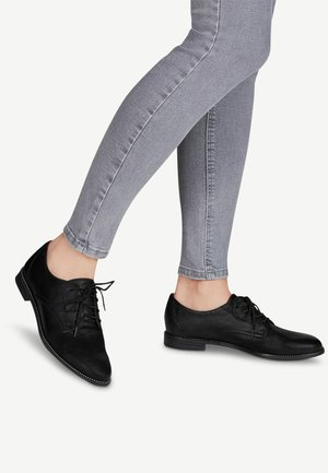 Lace-ups - black matt