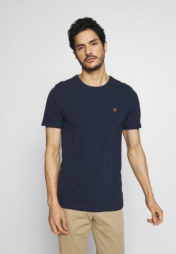 JPRBLAHARDY TEE CREW NECK - Basic T-shirt - black iris
