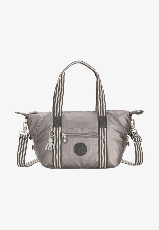 Handbag - carbon metallic