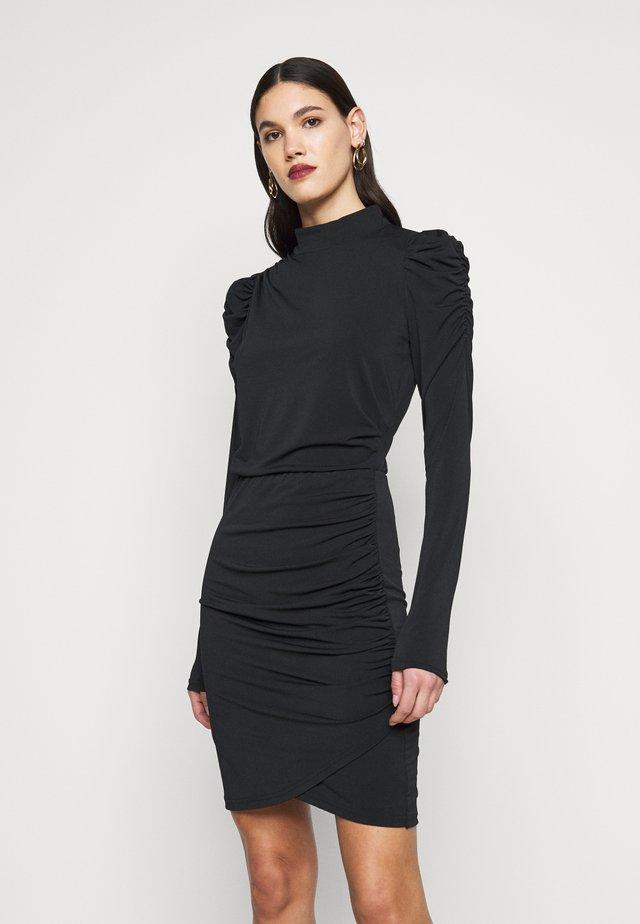 VMJAYDA DRESS - Jerseykjoler - black