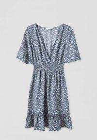 PULL&BEAR - Day dress - mottled blue - 1