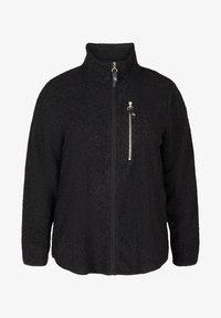 Active by Zizzi - Zip-up hoodie - black - 3