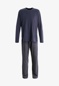 Schiesser - ANZUG LANG SET - Pyjama set - anthrazit - 5