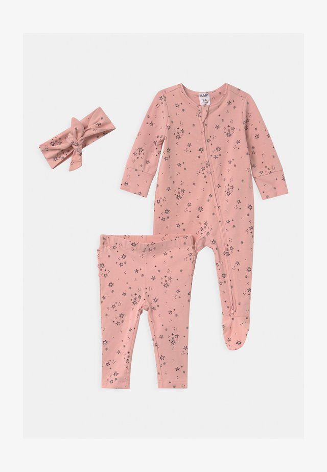 BUNDLE SET - Overal - pink