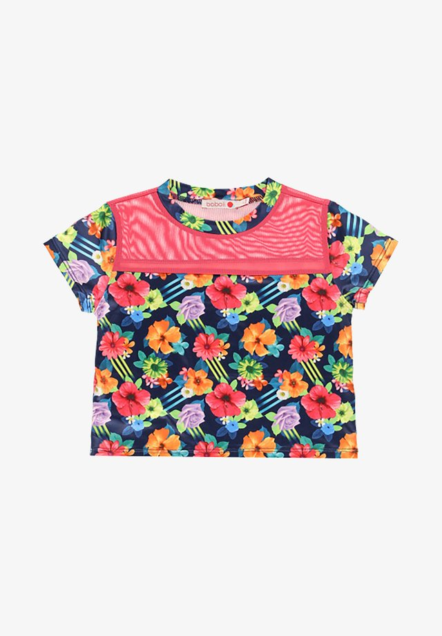 T-shirt med print - multi coloured