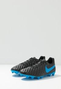 Nike Performance - TIEMPO LEGEND 8 CLUB FG/MG - Moulded stud football boots - black/blue hero - 2