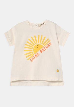 PERCY UNISEX - T-shirt print - sunshine