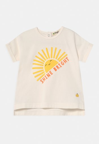 PERCY UNISEX - Print T-shirt - sunshine