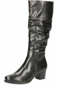 Caprice - Vysoká obuv - black nappa - 2