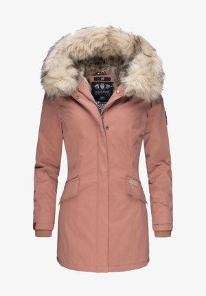 CRISTAL - Winter coat - terracotta