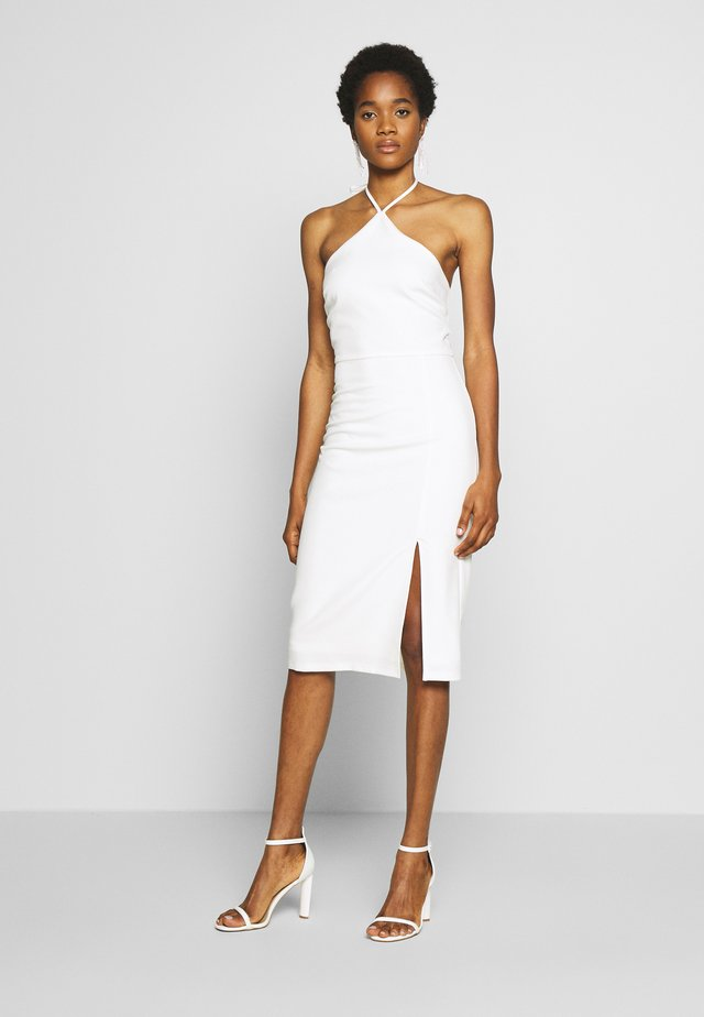 CASSIE DRESS - Sukienka koktajlowa - white