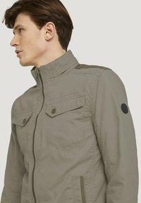 TOM TAILOR - BIKER - Light jacket - coastal fog beige - 3