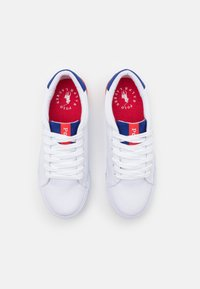 Polo Ralph Lauren - GRAFTYN UNISEX - Trainers - white/royal/red - 3