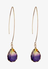 CHIC by Lirette - Earrings - paars geel - 1