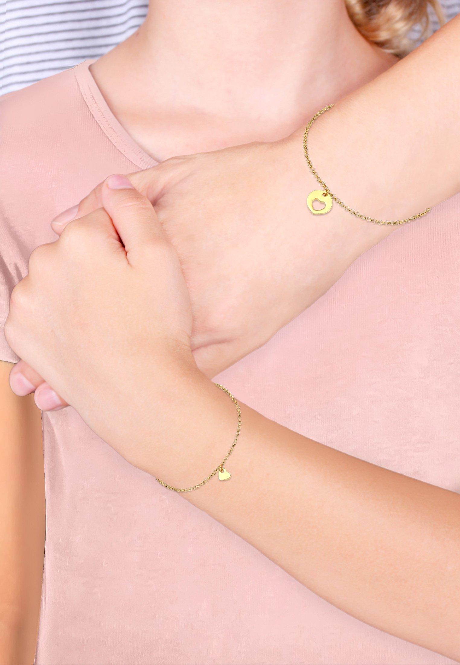 Femme 2 PACK HEART CUT OUT - Bracelet